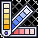 Color Palette Paint Palette Watercolors Icon