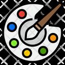 Color Palette Paint Palette Color Icon