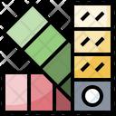 Color Palette Palette Pantone Icon