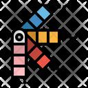 Pantone Paint Colors Icon