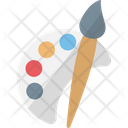 Color pelette Icon