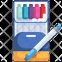 Color Pen Pen Highlighter Icon