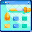 Color Colour Web Design Icon