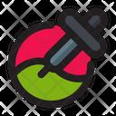 Color Picker Dropper Pipette Icon