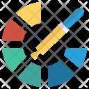 Color Paint Dropper Icon
