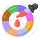 Color Sampler Color Dropper Pipette Icon