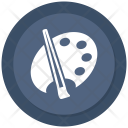 Plate Color Brush Icon