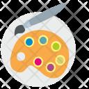 Art Palette Draw Icon
