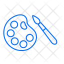 Color Plate Education Icon