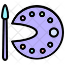 Free Time Paint Icon