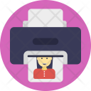 Color Printer Icon