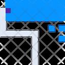 Color Roller Color Interior Icon