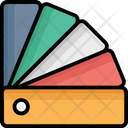 Color Sample Color Swatch Colour Guide Icon