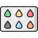 Color Sample Color Guide Hair Color Sample Icon
