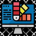 Color Schemw Computer Icon