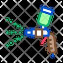 Color Spray Gun Icon