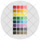 Color swatches Icon