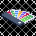 Color Swatches Color Patterns Colour Coordination Icon