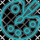 Color Tray Icon