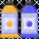 Oil Paints Color Tubes Paint Containers Icon