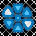 Color Wheel Palette Colors Icon