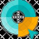 Graphic Design Creative Color Wheel Icon