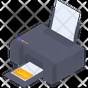 Colored Printer Icon