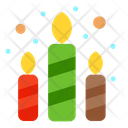 Colorful Candles Candles Candle Icon