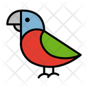 Colorful Parrot Parrot Bird Icon