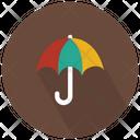 Colorful Umbrella Icon