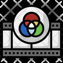 Coloring Video Color Scheme Art Icon