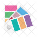 Colors Palette Design Icon