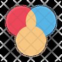 Colors Palette Rgb Icon