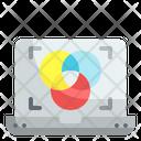 Color Scheme Tools Print Document Icon