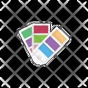 Palette Colors Design Icon