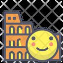Colosseum Coliseum Italy Icon