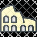 Colosseum Architecture Building Icon