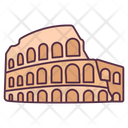 Colosseum Italy Landmark Wonder Of World Icon