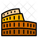 Colosseum Italy Landmark Icon