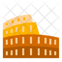 Colosseum Italy Landmark Icon