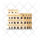 Colosseum Italy Monument Icon