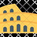 Colosseum Ancient Stadium Icon
