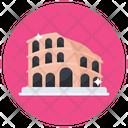 Flavian Amphitheater Colosseum Italian Landmark Icon