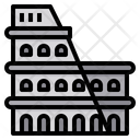 Colosseum Rome Italy Icon