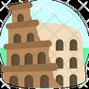Colosseum Italy Rome Icon