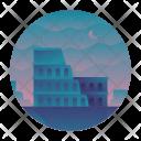 Colosseum Building Architecture Icon