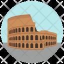 Colosseum Structure Wonder Icon