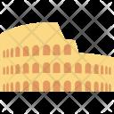 Colosseum Amphitheatre Rome Icon