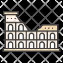Colosseum World Landmark Icon