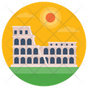 Colosseum Roman Colosseum Monument Icon